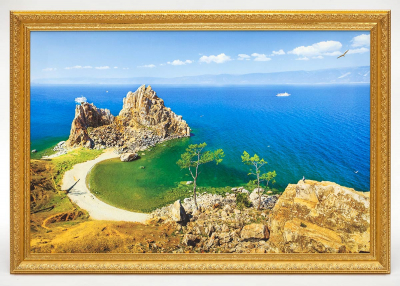 Картина - озеро Байкал