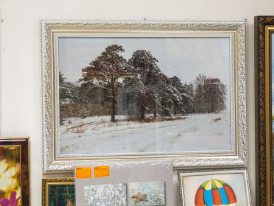Фотокартина зимний пейзаж