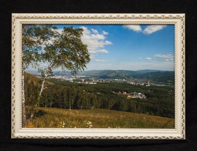 Фотокартина с видом на Красноярск