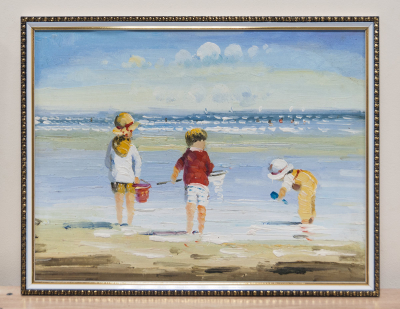 Продам картину в Красноярске - дети на море