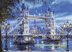"""Набор для вышивки крестиком -""""Тауэрский мост"""""""