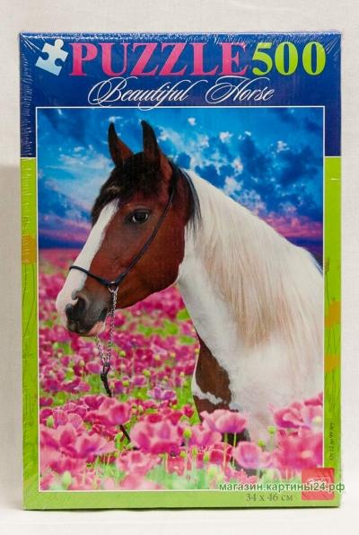 Пазлы -  конь