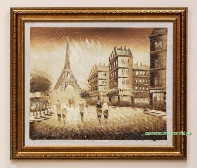 Картина с видом Парижа