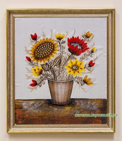 Продаётся картина с подсолнухами