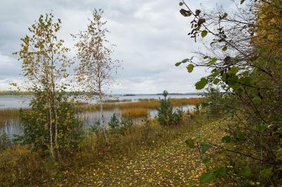 Фотография - осень на Ангаре