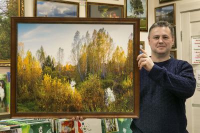 Фотокартина на холсте - Осень