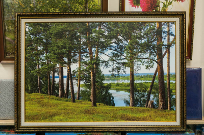 Картина - Сибирский пейзаж